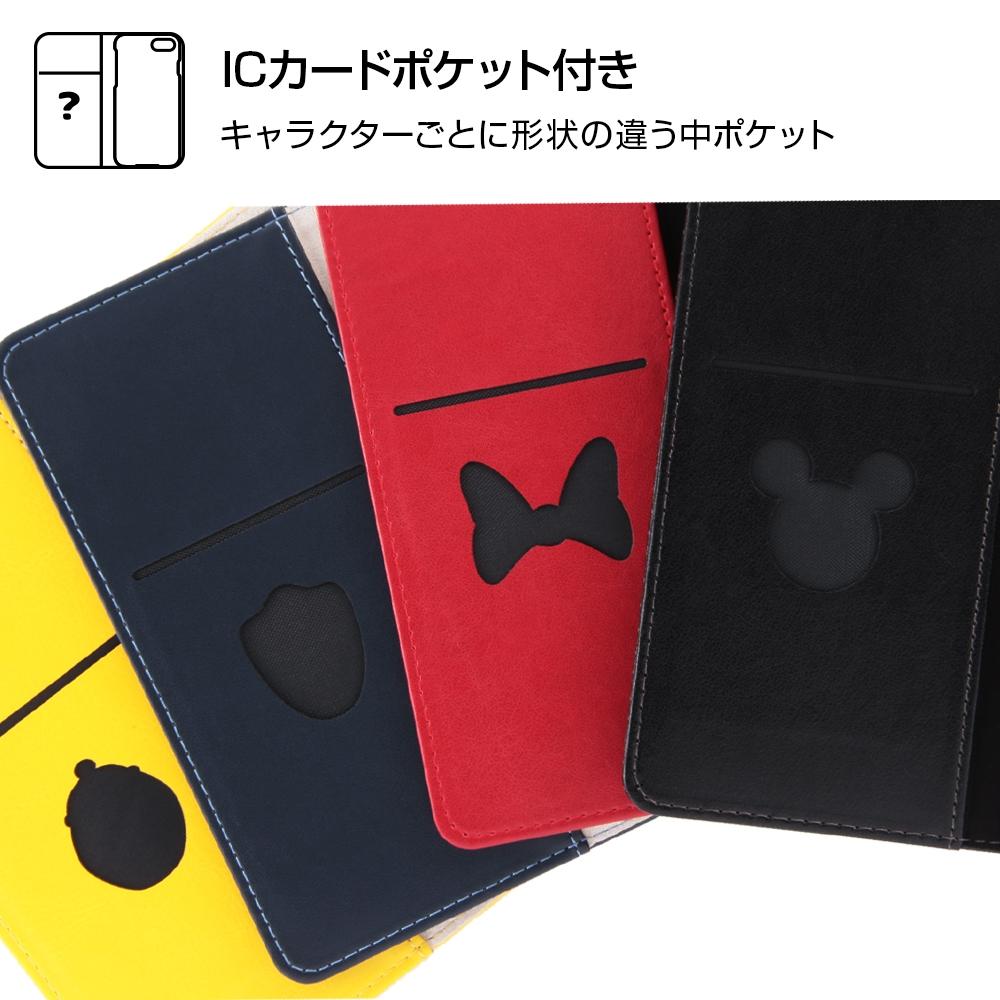 Galaxy S9 『ディズニーキャラクター』/手帳型ケース スタンディング カーシヴ/ミッキー