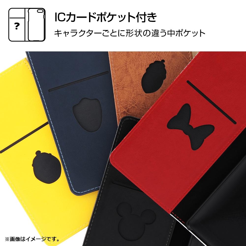 AQUOS R2 『ディズニーキャラクター』/手帳型ケース スタンディング カーシヴ/ミニー