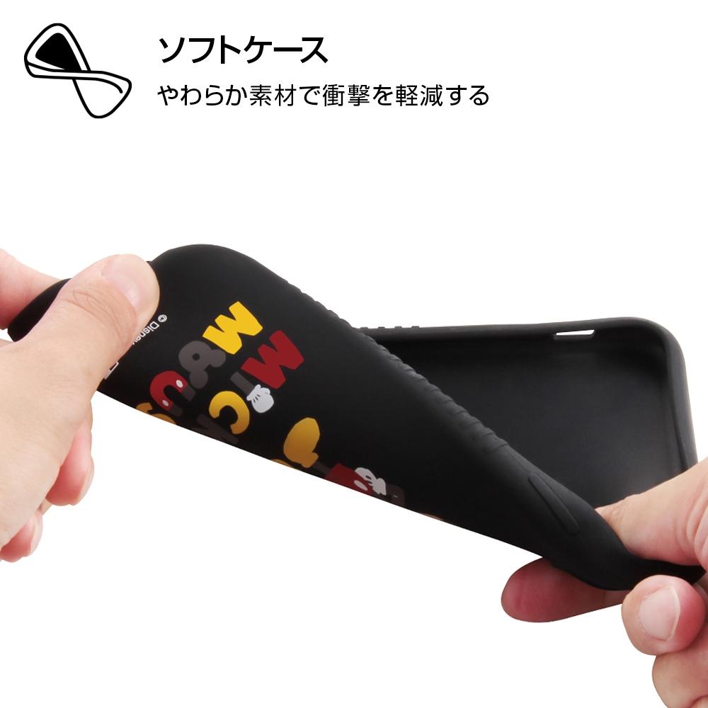 iPhone XR 『ディズニーキャラクター』/シリコンケース/ミッキー