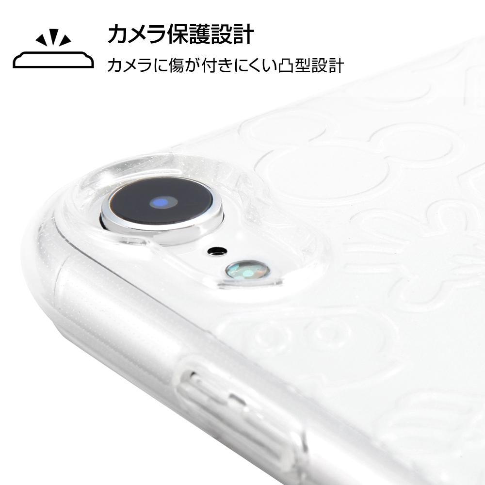 iPhone XR 『ディズニーキャラクター』/TPUソフトケース キラキラ/ミッキー