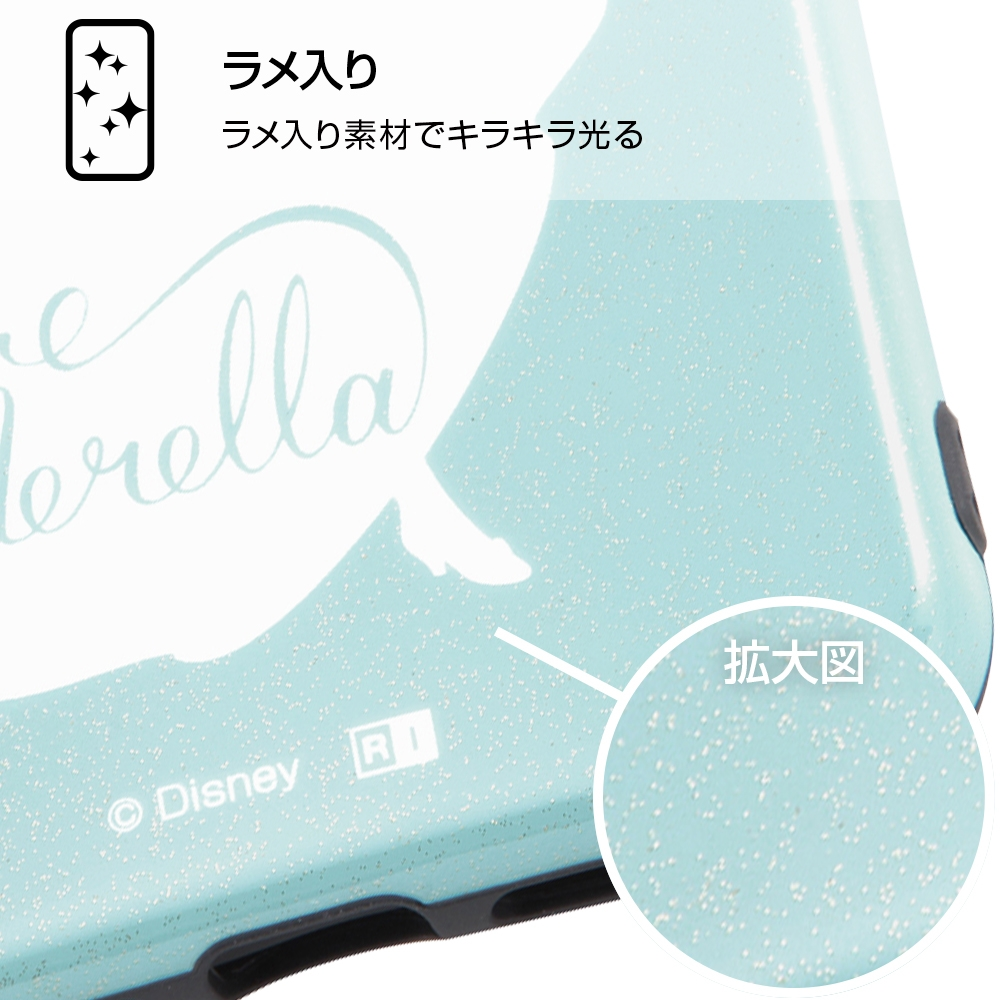 iPhone XR 『ディズニーキャラクター』/TPUソフトケース 耐衝撃Light Pastel/シンデレラ