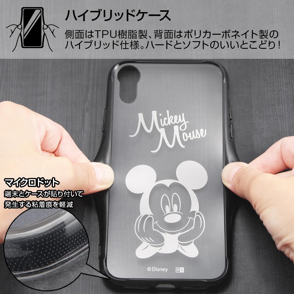 iPhone XR 『ディズニーキャラクター』/ハイブリッドケース/ミッキー