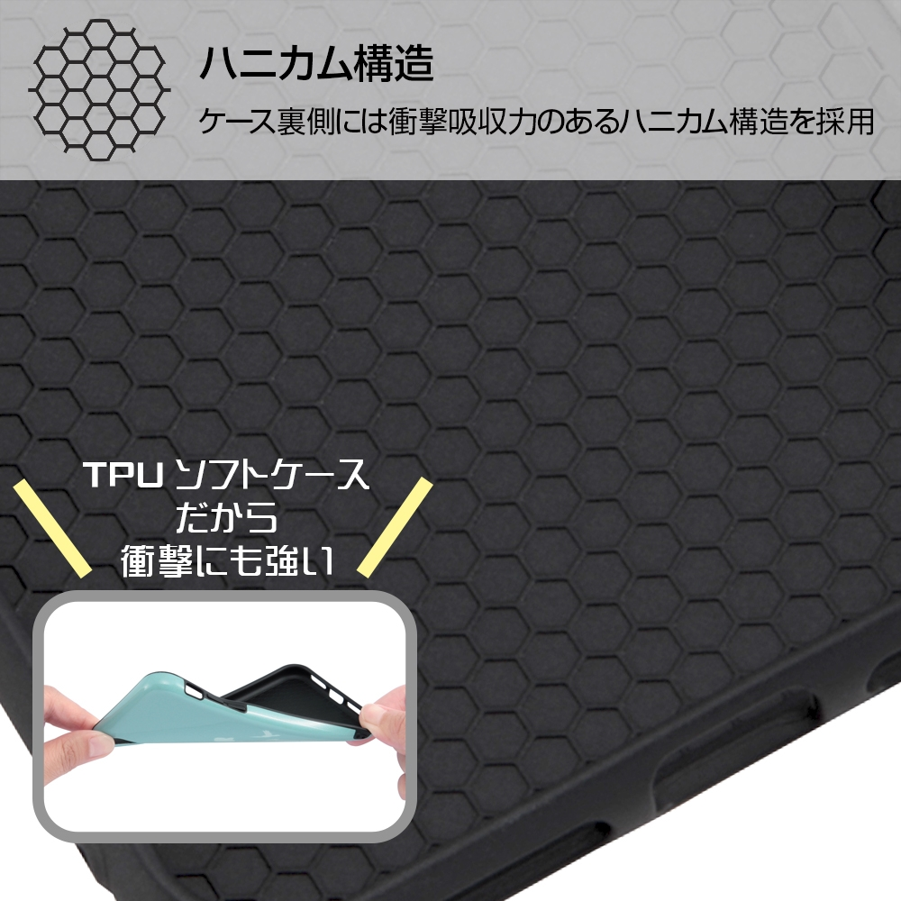 iPhone XS Max 『ディズニーキャラクター』/TPUソフトケース 耐衝撃Light Pastel/アリエル