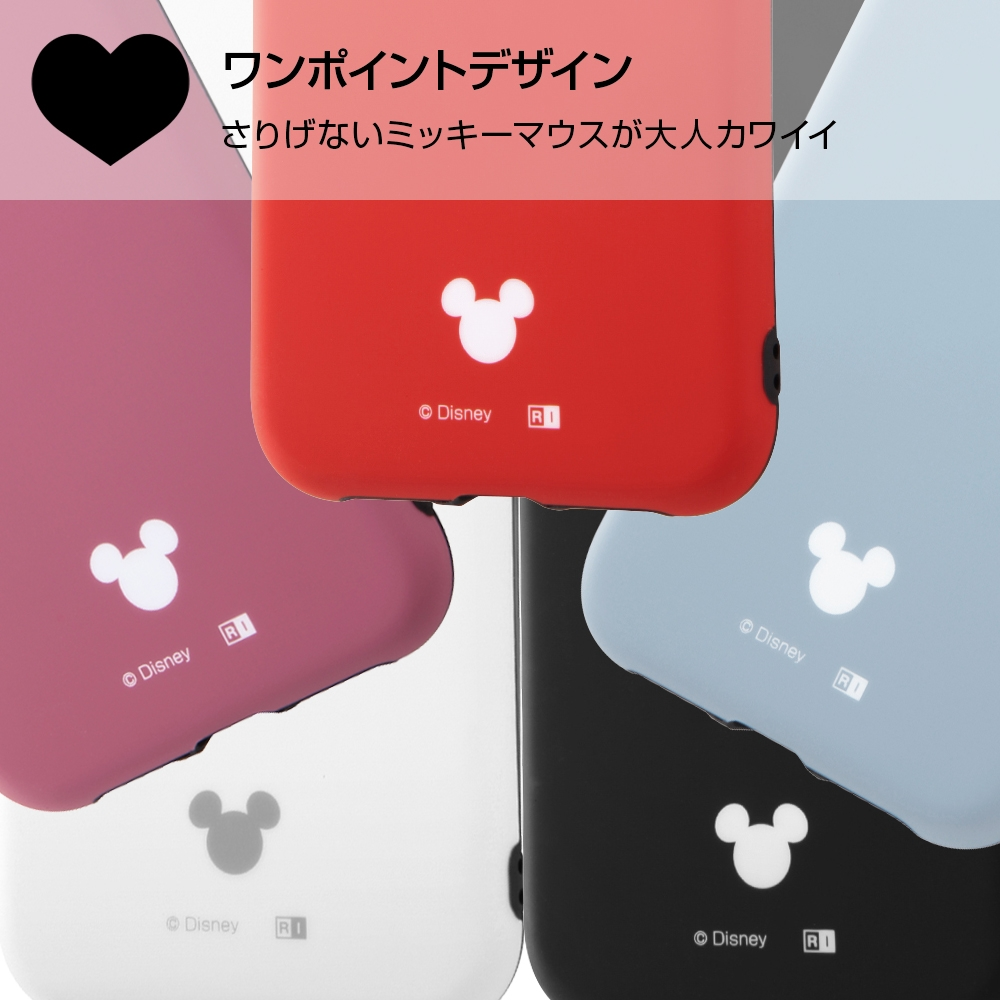 iPhone XR 『ディズニーキャラクター』/TPUソフトケース 耐衝撃Light Petit/ホワイト