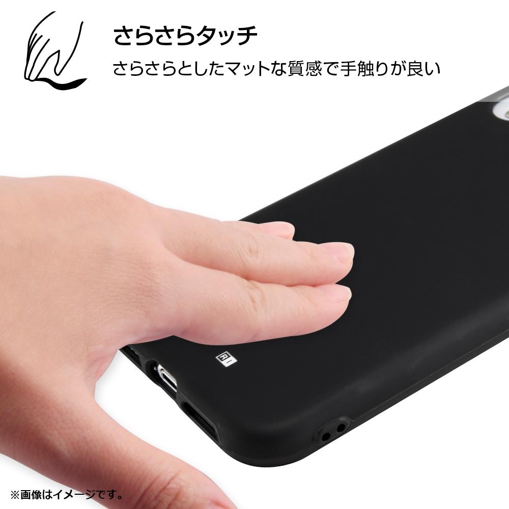 iPhone XR 『ディズニーキャラクター』/TPUソフトケース 耐衝撃Light Petit/レッド