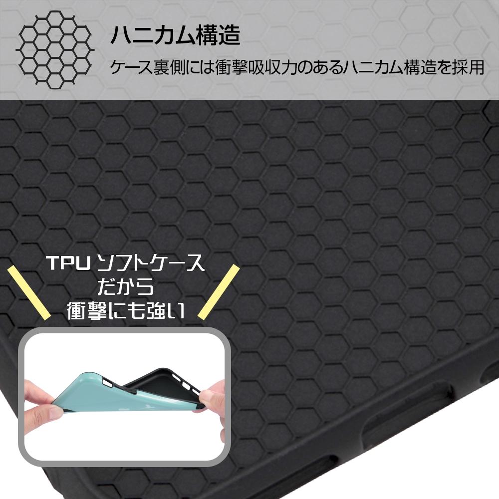 iPhone XS/X 『ディズニーキャラクター』/TPUソフトケース 耐衝撃 Light Pastel/アリエル