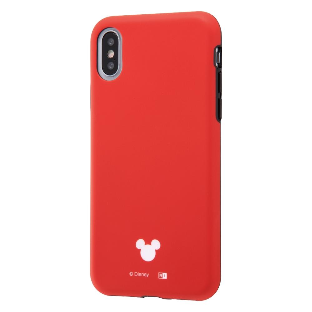 iPhone XS/X 『ディズニーキャラクター』/TPUソフトケース 耐衝撃Light Petit/レッド