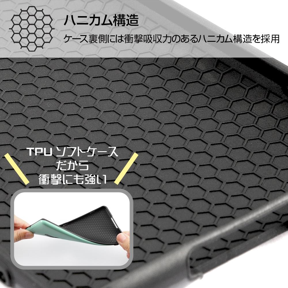 Xperia XZ3 『ディズニーキャラクター』/TPUソフトケース 耐衝撃Light Pastel/アリエル