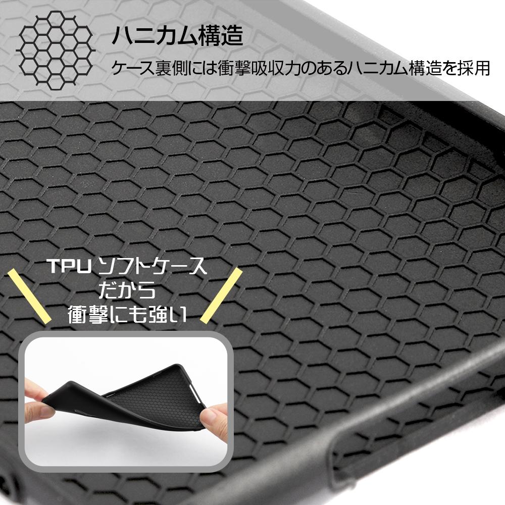 Xperia XZ3 『ディズニーキャラクター』/TPUソフトケース 耐衝撃Light Petit/ピンク