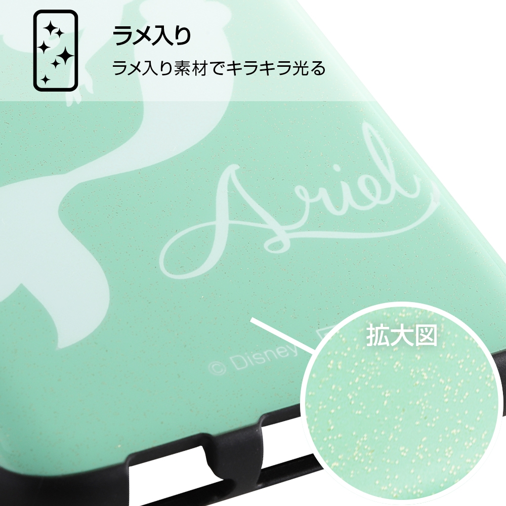 Galaxy Feel 2 『ディズニーキャラクター』/TPUソフトケース 耐衝撃Light Pastel/アリエル