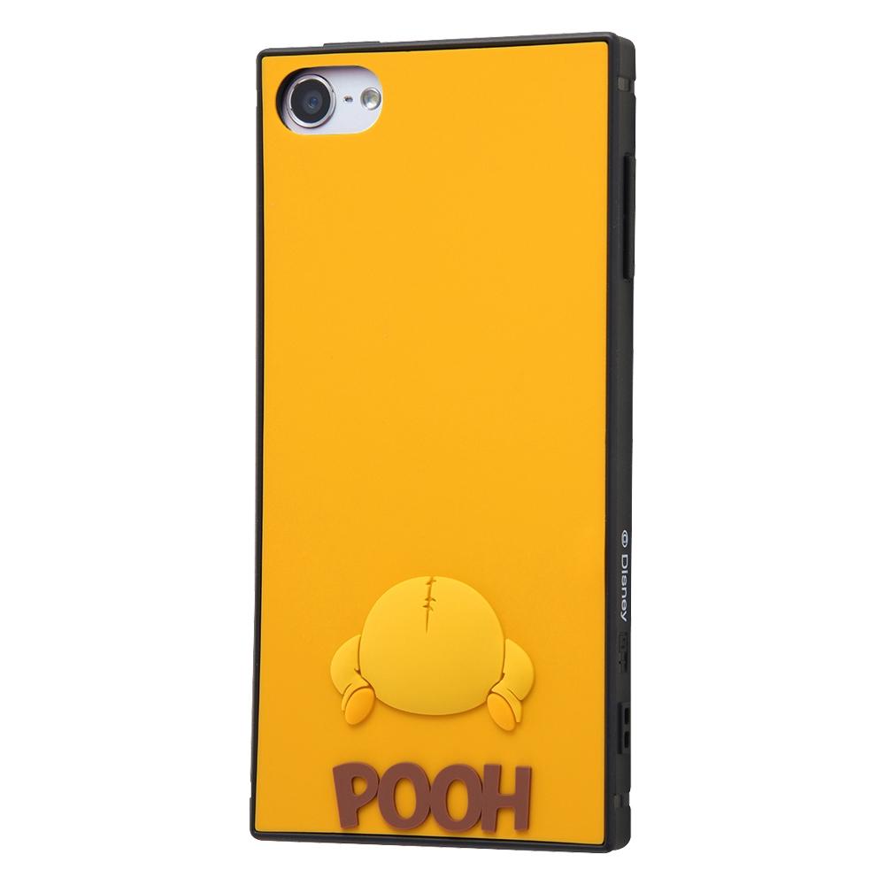 iPod touch 第7世代 (2019)、第6世代(2015)、第5世代(2014/2012) 『ディズニーキャラクター』/耐衝撃ハイブリッドケース シリコン KAKU/プー