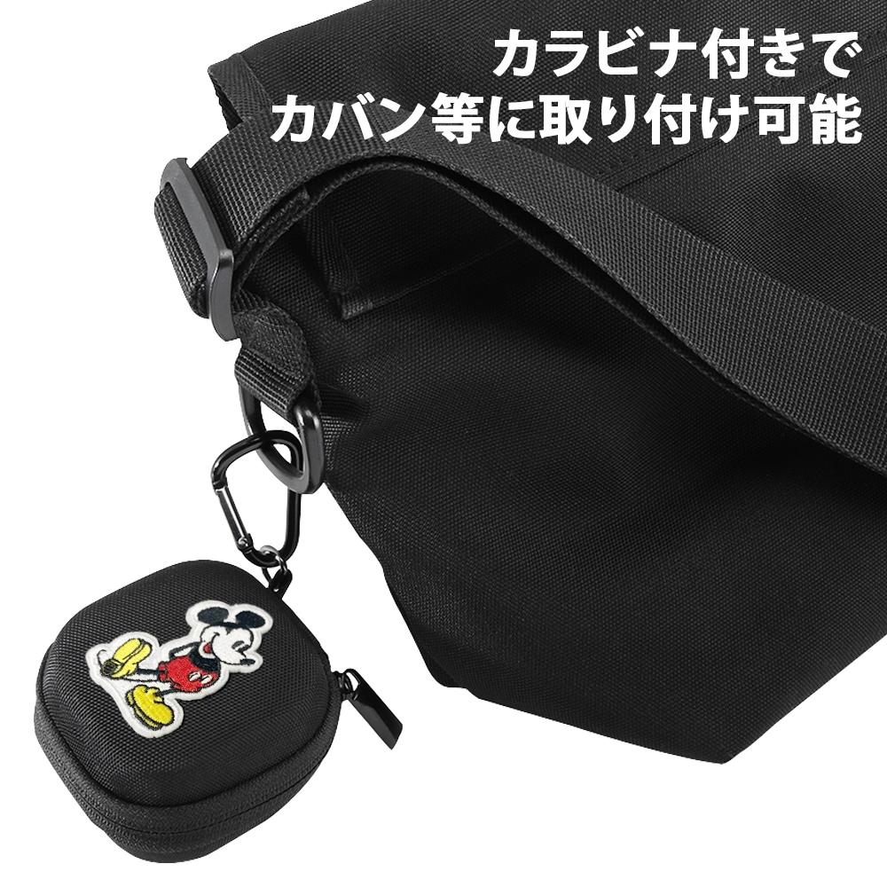 SONY WF-SP700N  『ディズニーキャラクター』/耐衝撃 キャリングケース カラビナ付き/ミッキー