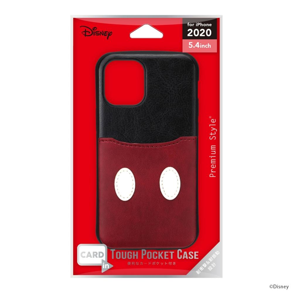 iPhone 12 mini用 タフポケットケース [ミッキーマウス]