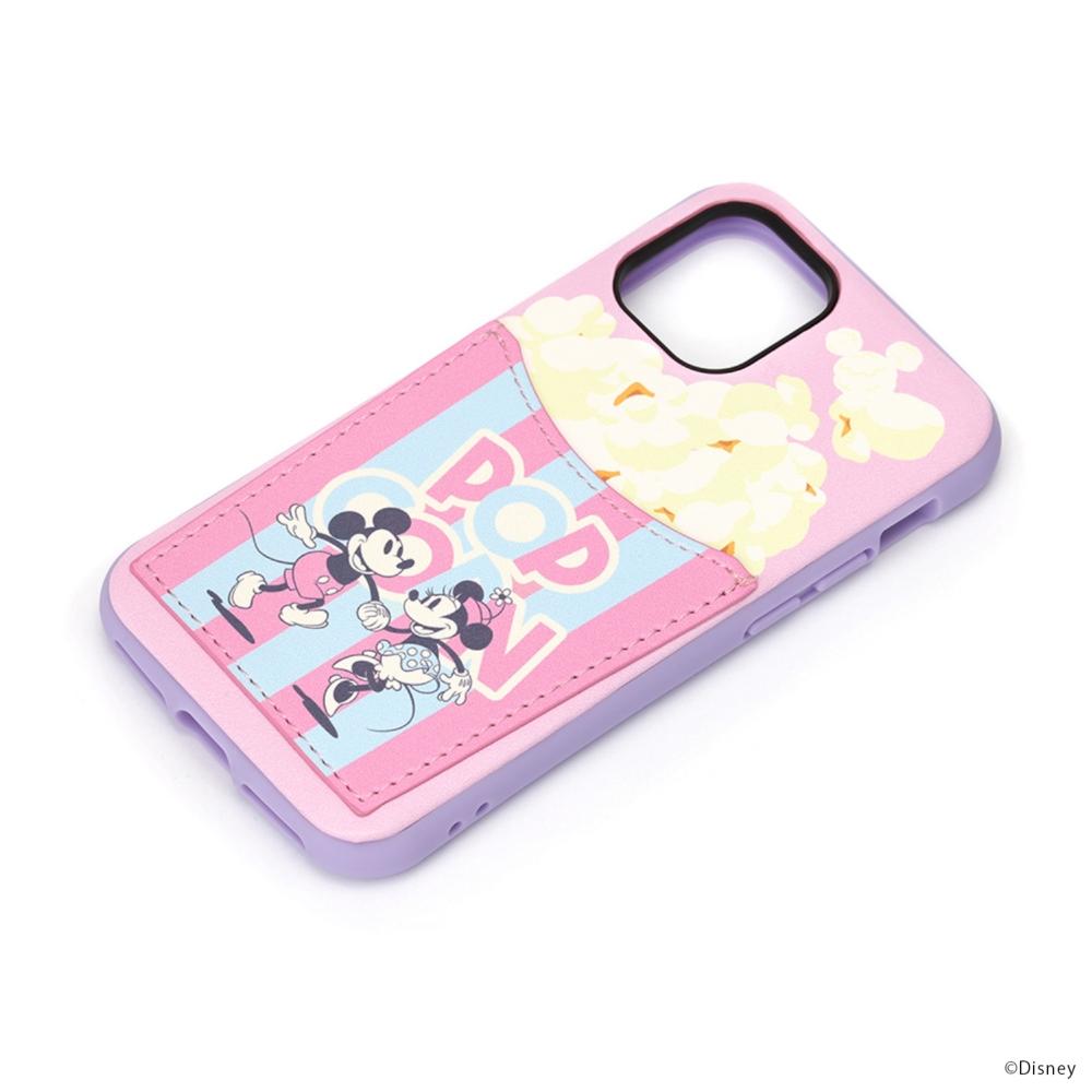 iPhone 12 mini用 タフポケットケース [ミッキーマウス&ミニーマウス]