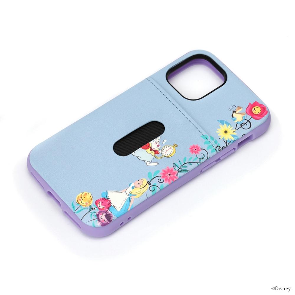 iPhone 12 mini用 タフポケットケース [アリス]