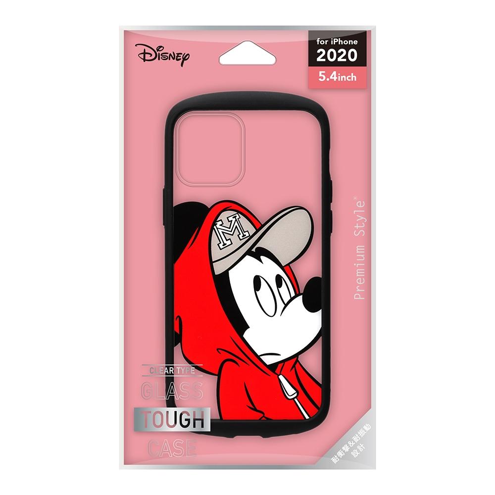 iPhone 12 mini用 ガラスタフケース [ミッキーマウス]
