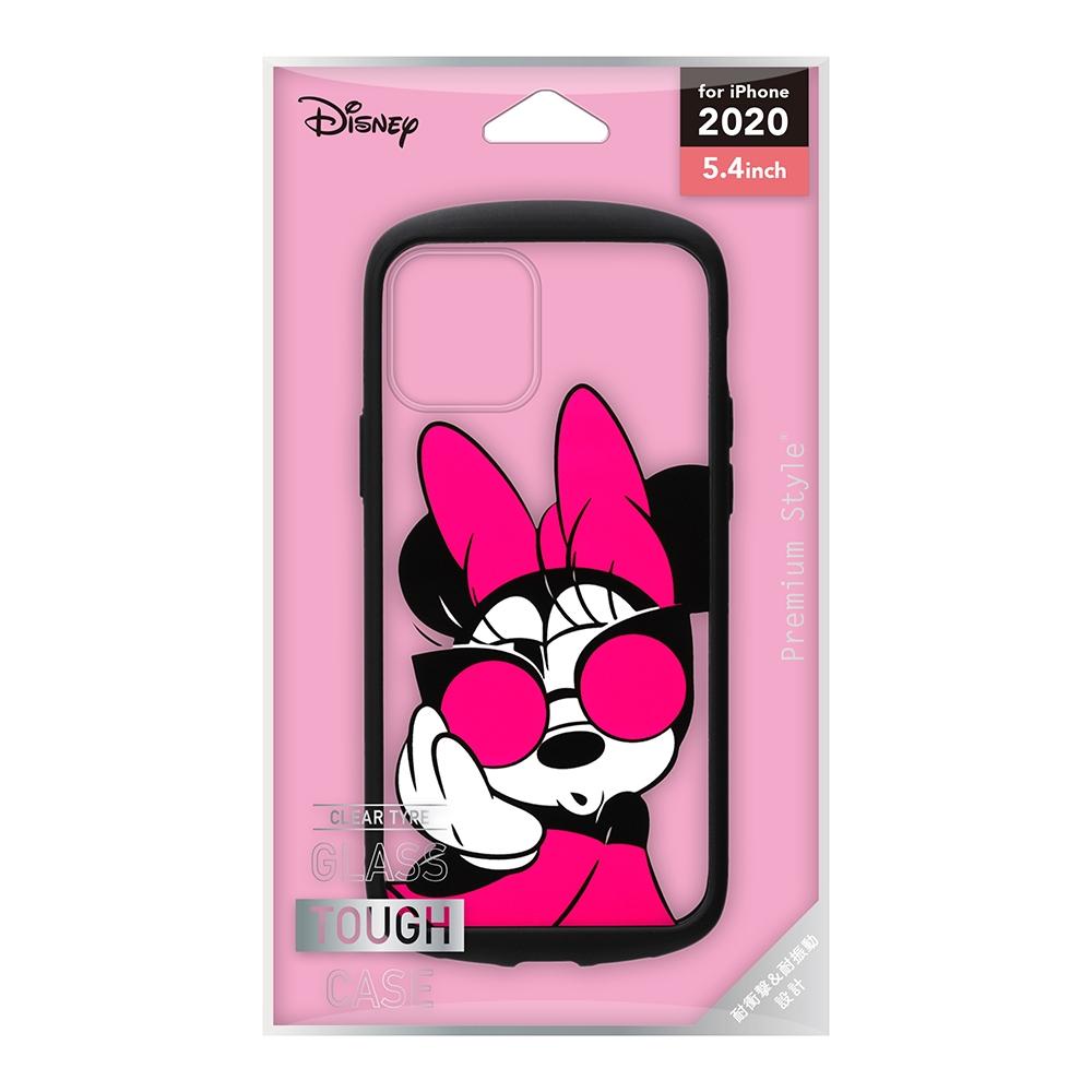 iPhone 12 mini用 ガラスタフケース [ミニーマウス]