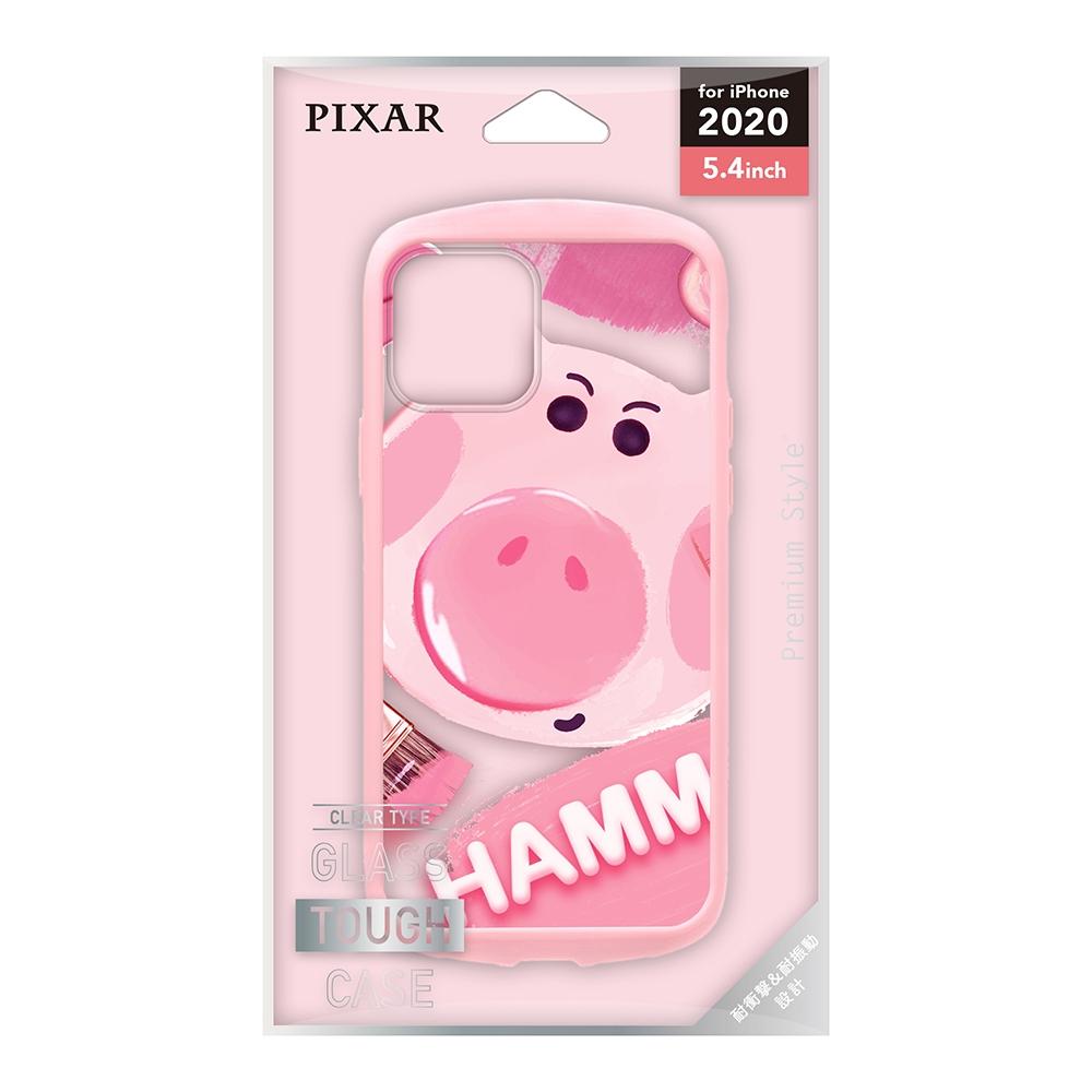 iPhone 12 mini用 ガラスタフケース [ハム]