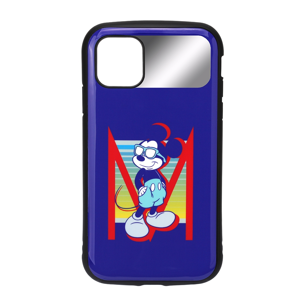iPhone 12 mini用 ハイブリッドタフケース [ミッキーマウス]