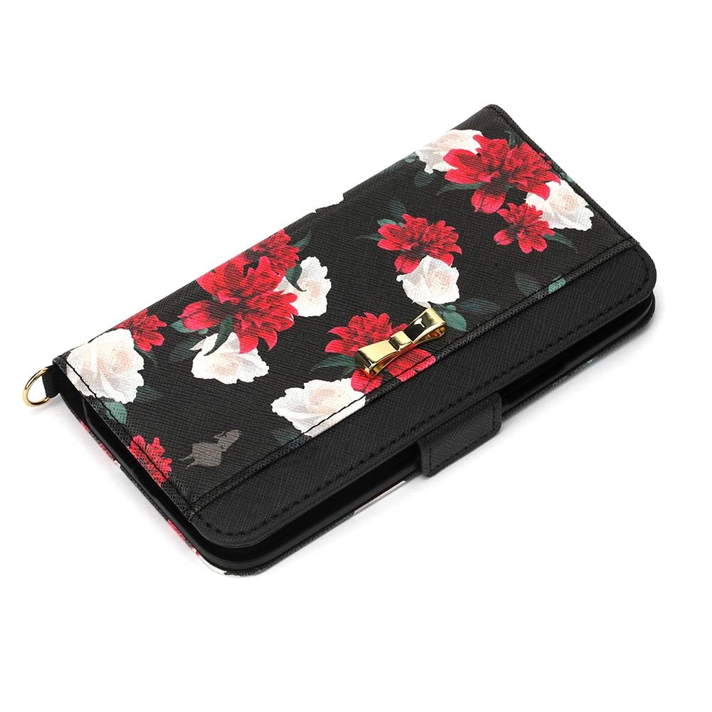 iPhone 12 mini用 フリップカバー [アリス]
