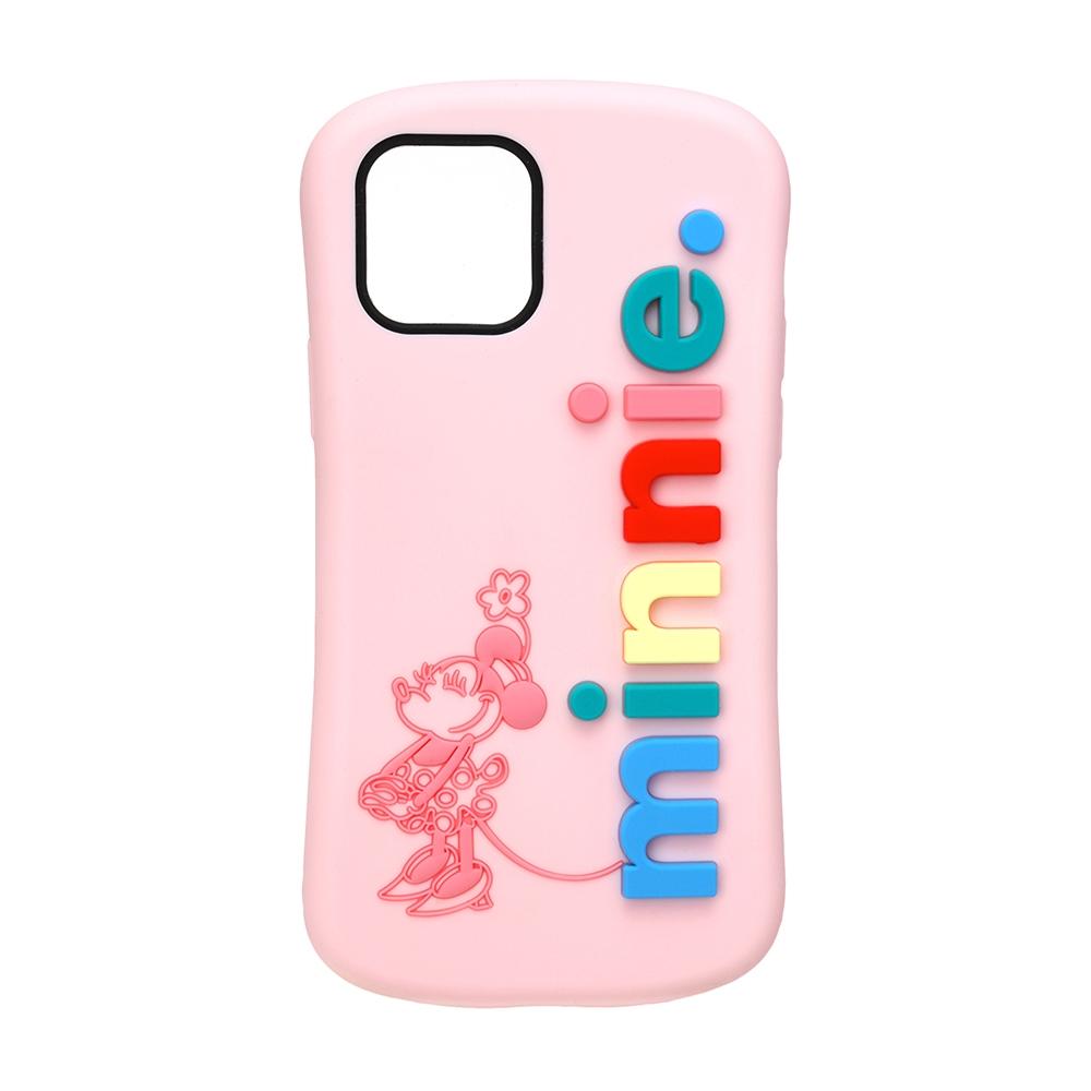 iPhone 12 mini用 シリコンケース [ミニーマウス]
