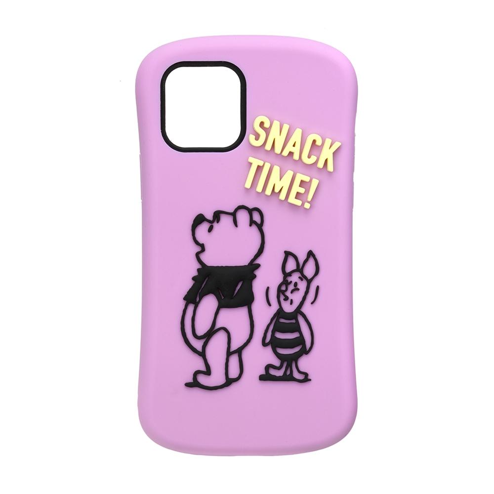 iPhone 12 mini用 シリコンケース [くまのプーさん]