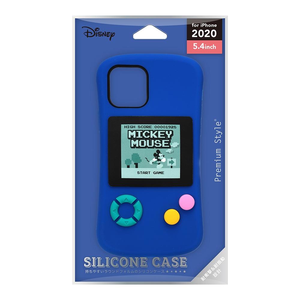 iPhone 12 mini用 シリコンケース [ミッキーマウス/GAME]