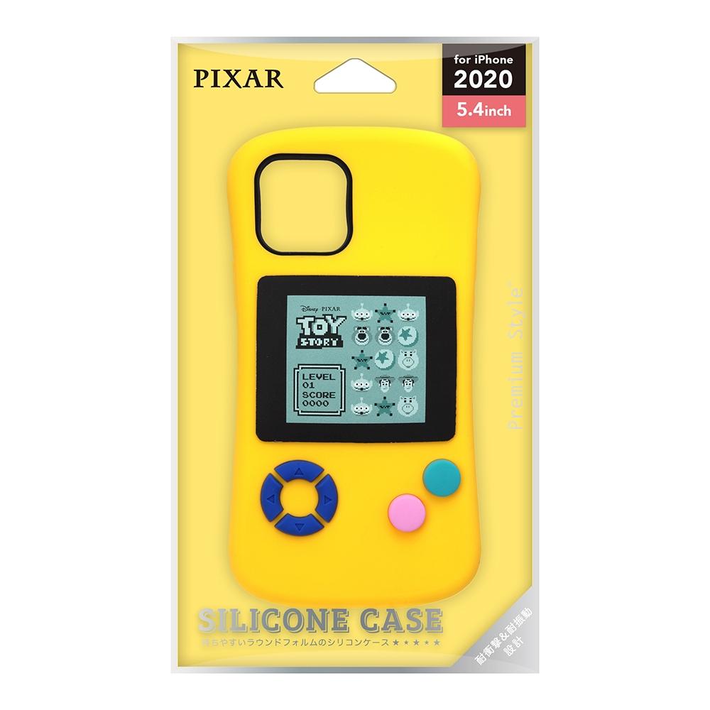 iPhone 12 mini用 シリコンケース [トイ・ストーリー/GAME]