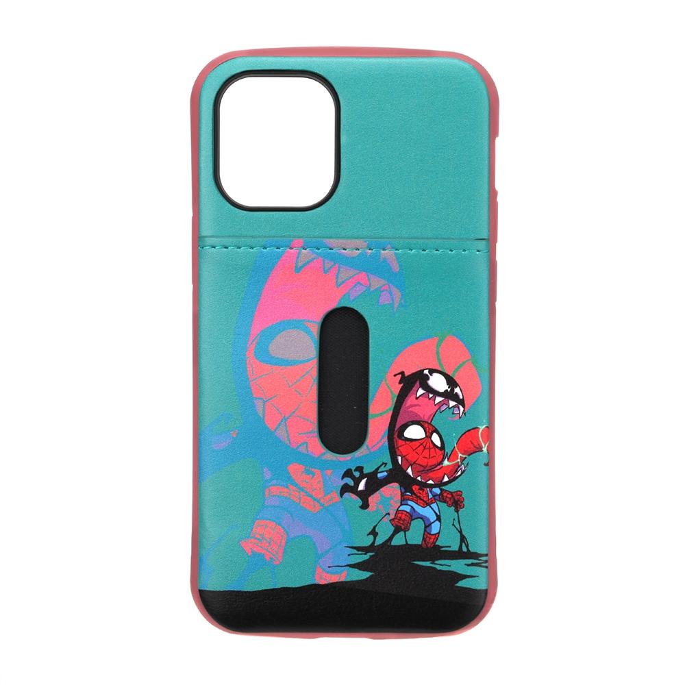 iPhone 12 mini用 タフポケットケース [スパイダーマン&ヴェノム]