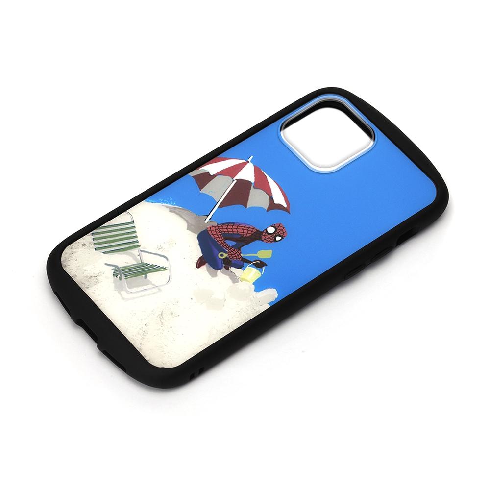 iPhone 12 mini用 ガラスタフケース [スパイダーマン]