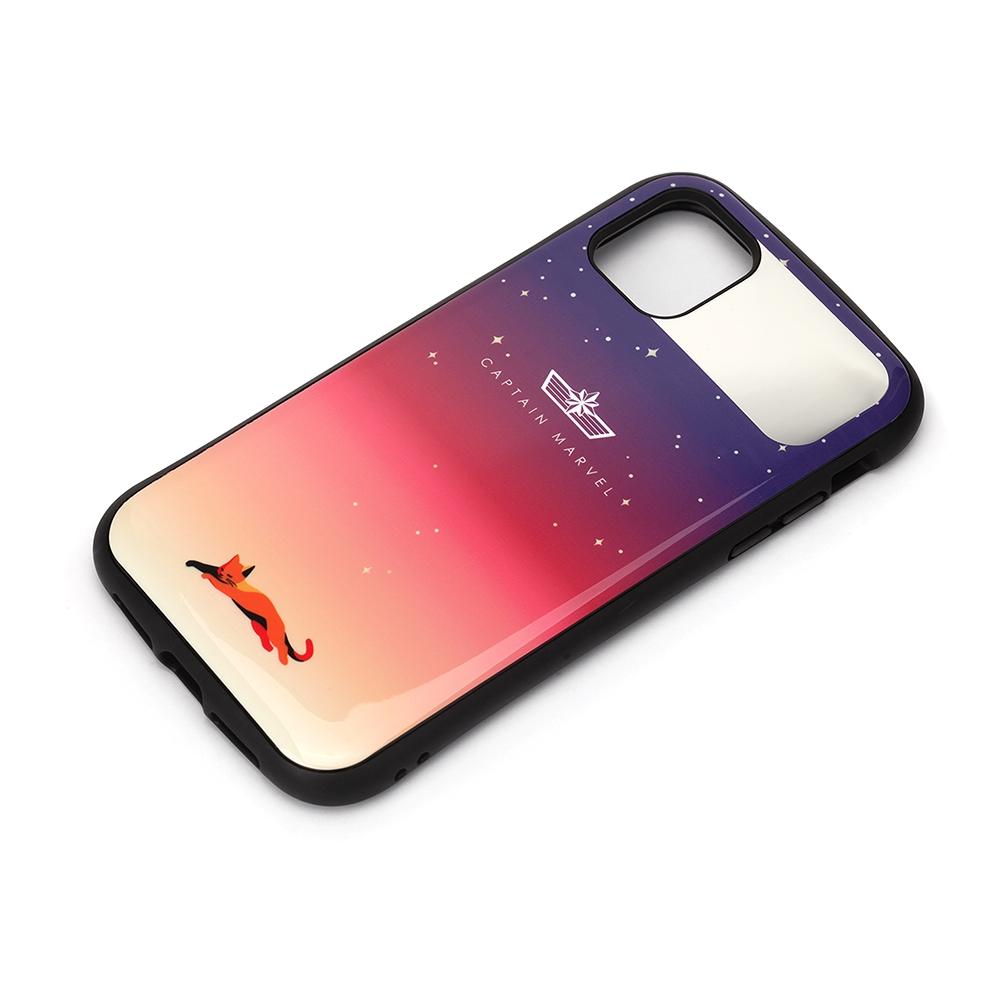 iPhone 12 mini用 ハイブリッドタフケース [キャプテン・マーベル]
