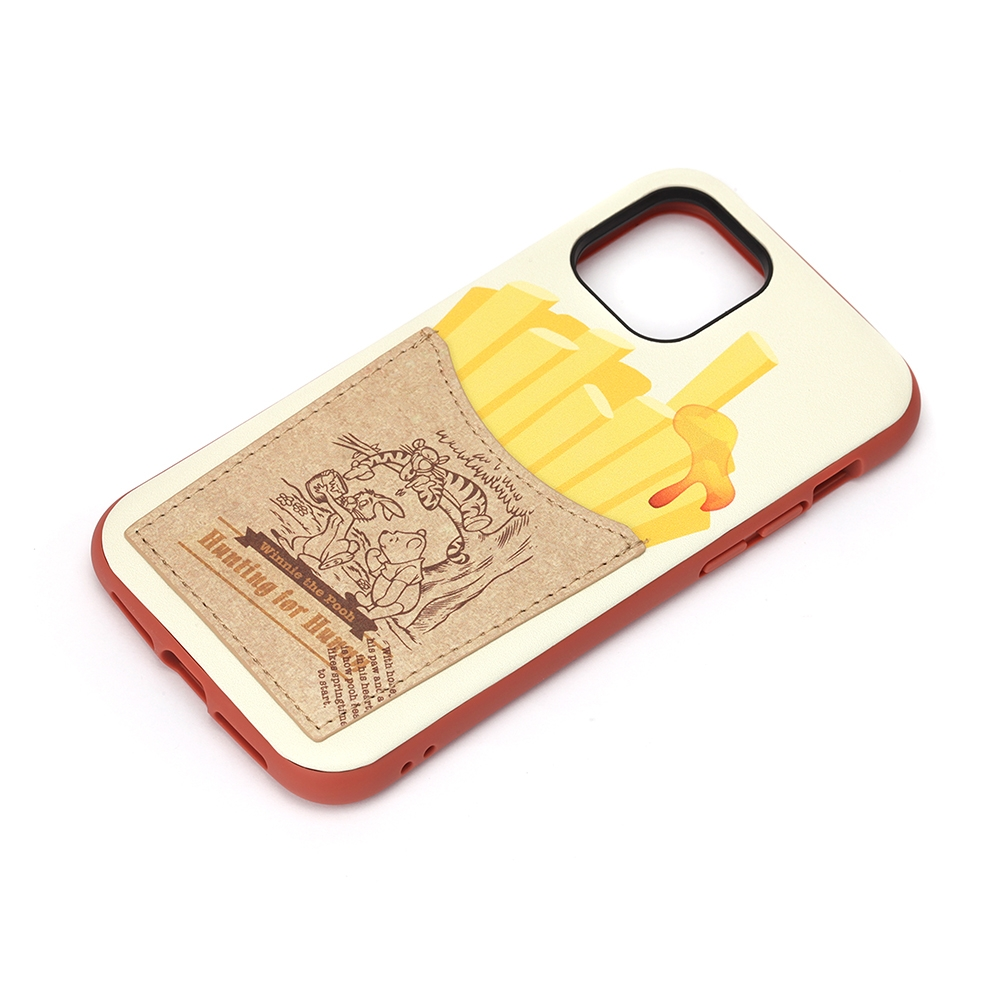 iPhone 12/12 Pro用 タフポケットケース [くまのプーさん]