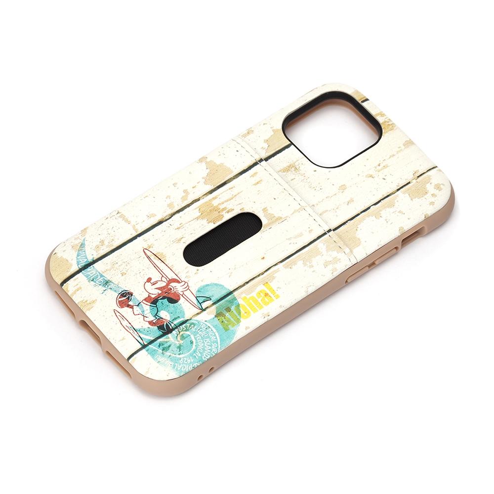 iPhone 12/12 Pro用 タフポケットケース [ミッキーマウス/サーフ]