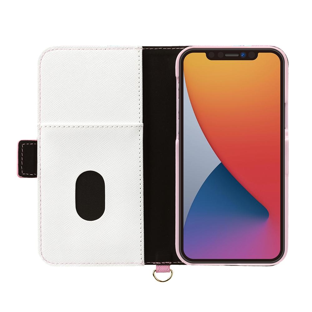 iPhone 12/12 Pro用 フリップカバー [ミニーマウス]