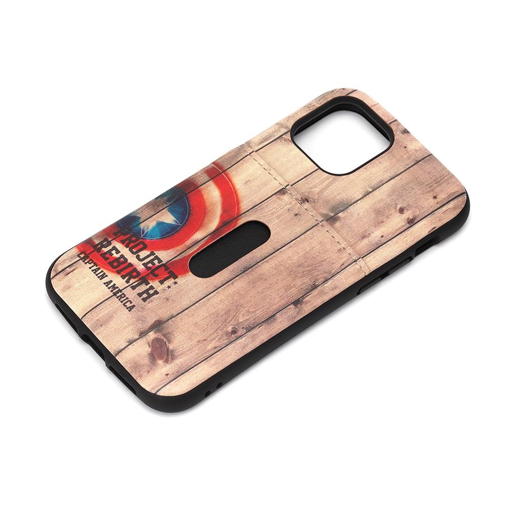 iPhone 12/12 Pro用 タフポケットケース [キャプテン・アメリカ]