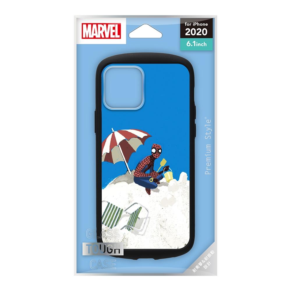 iPhone 12/12 Pro用 ガラスタフケース [スパイダーマン]