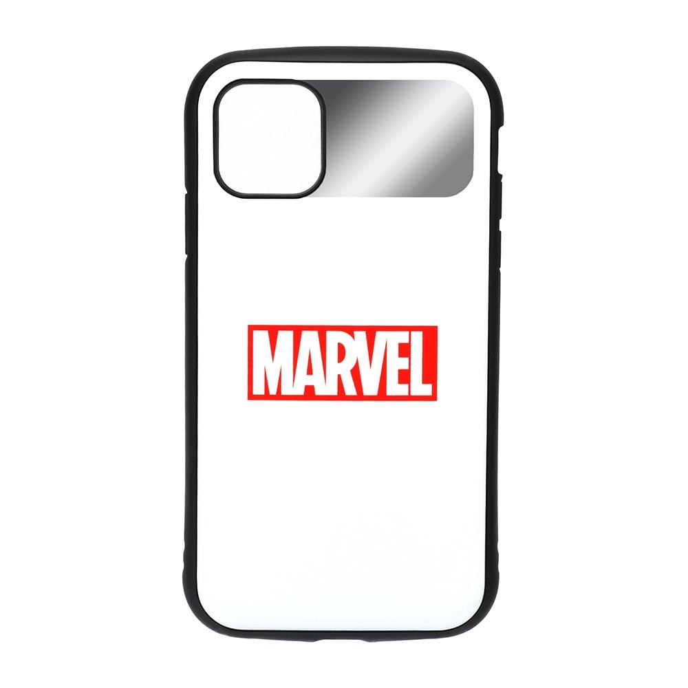 iPhone 12/12 Pro用 ハイブリッドタフケース [ロゴ/ホワイト]
