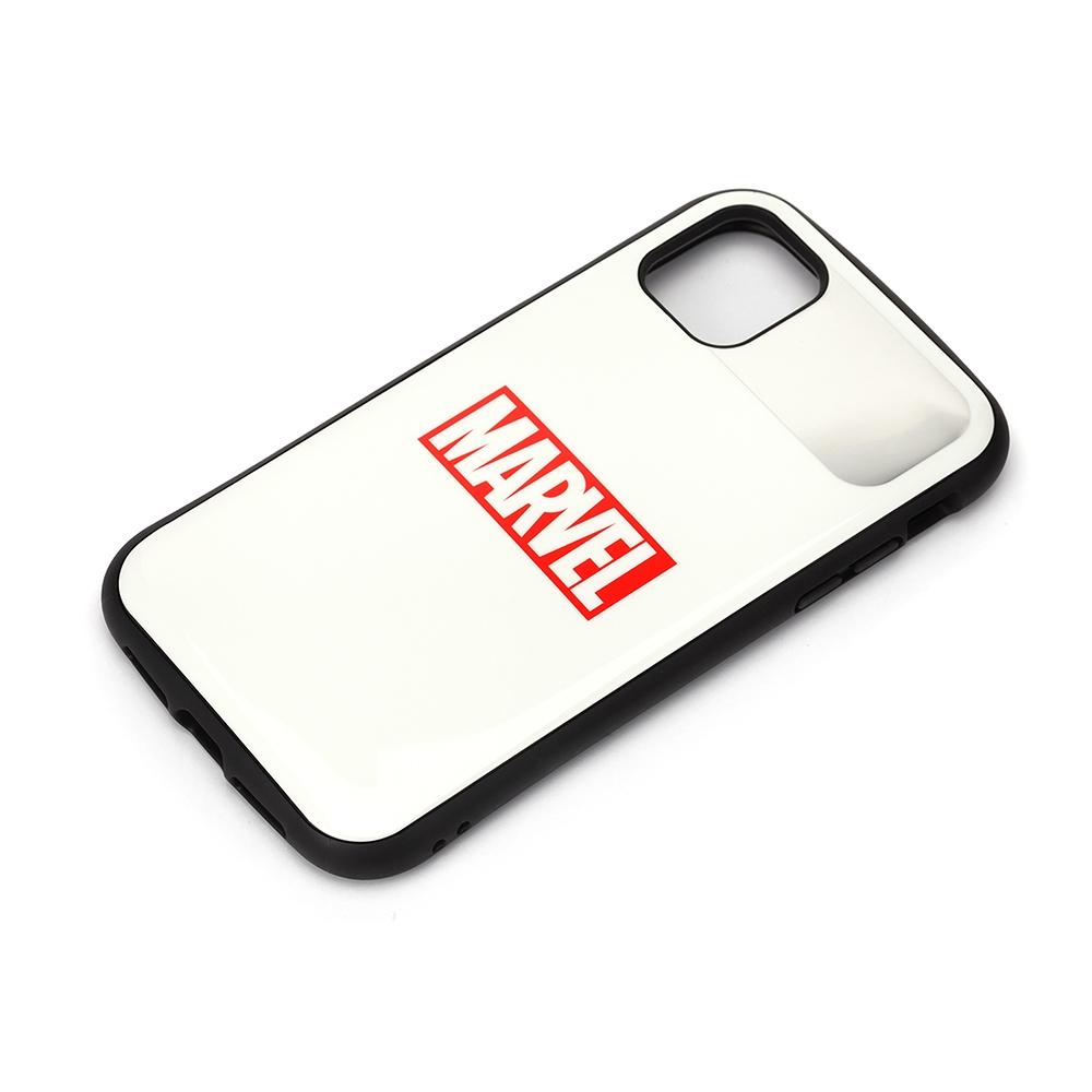 iPhone 12 Pro Max用 ハイブリッドタフケース [ロゴ/ホワイト]
