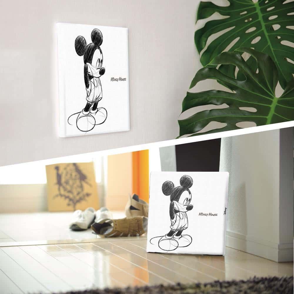 【ファブリックパネル】ミッキーマウス A 【dsn-0007】