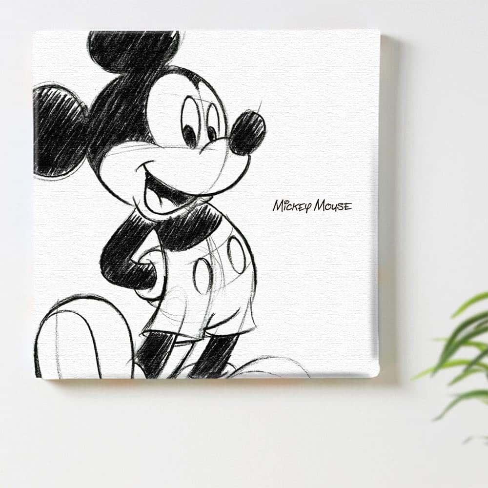 【ファブリックパネル】ミッキーマウス B