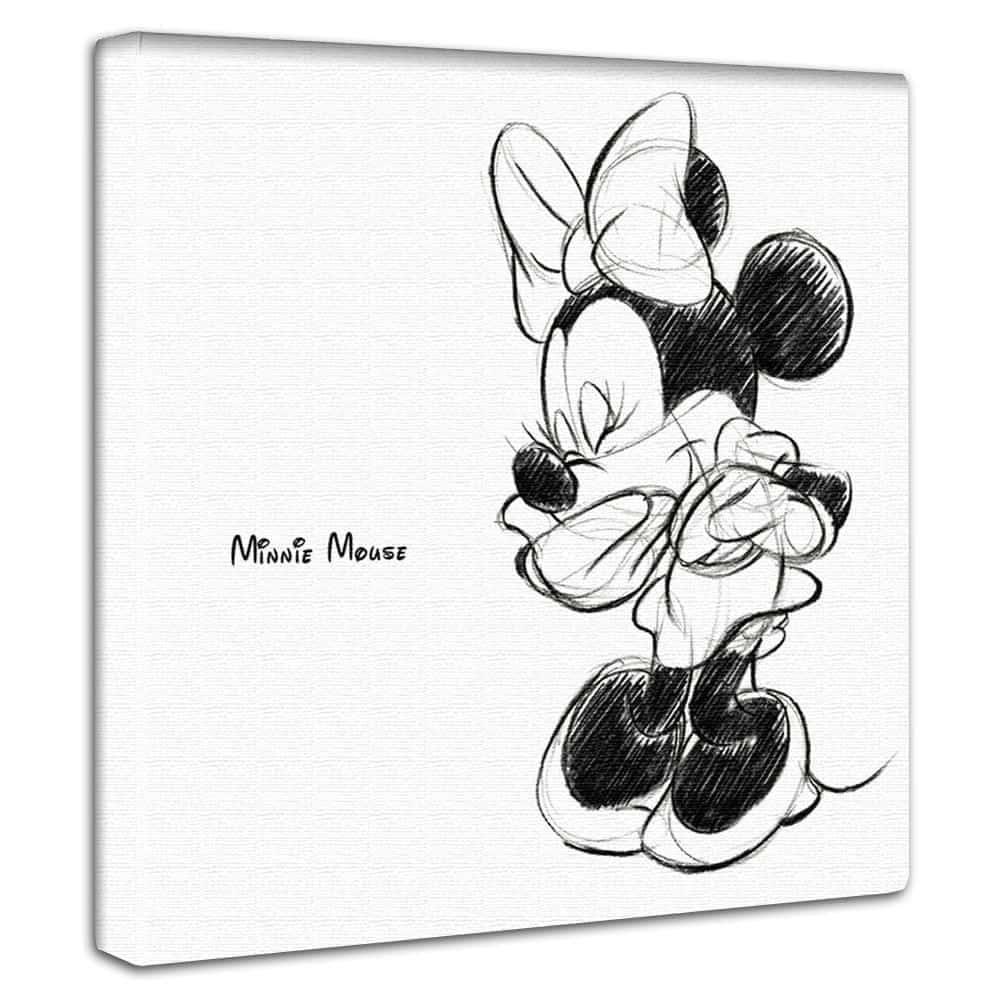 【ファブリックパネル】ミニーマウス A 【dsn-0143】