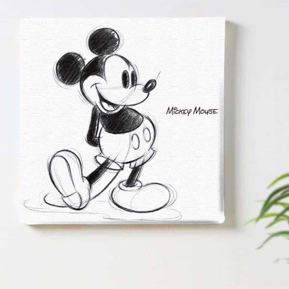 【ファブリックパネル】ミッキーマウス C 【dsn-0151】