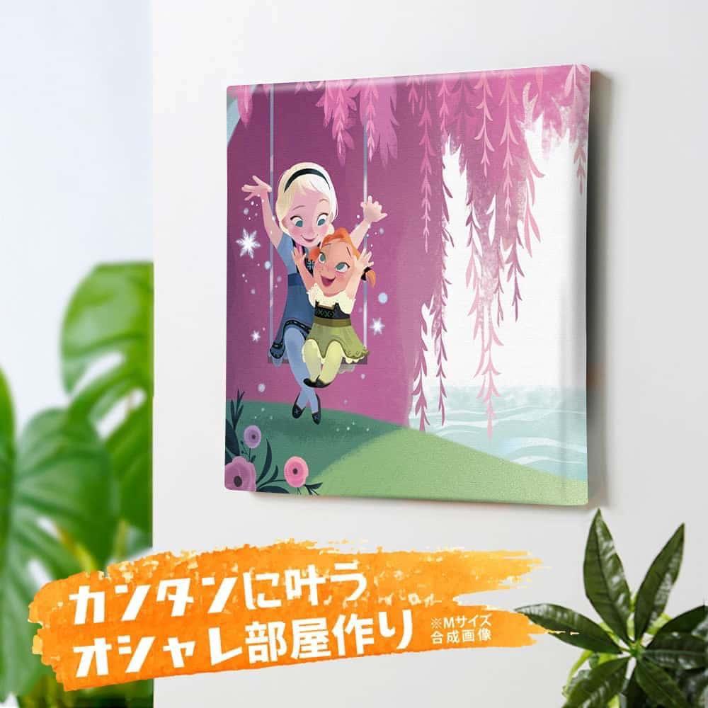 【ファブリックパネル】アナと雪の女王 ブランコ 【DSN-0277】