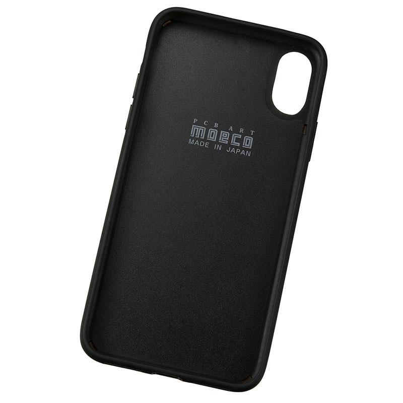 スター・ウォーズ iPhone X/XS用 スマホケース・カバー FLASH M-FALCON 基板アート ブラック