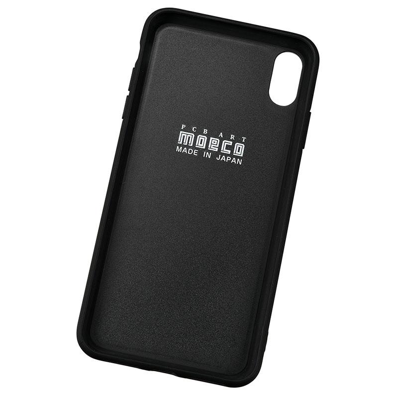 スター・ウォーズ iPhone XS Max用 スマホケース・カバー FLASH M-FALCON 基板アート ブラック