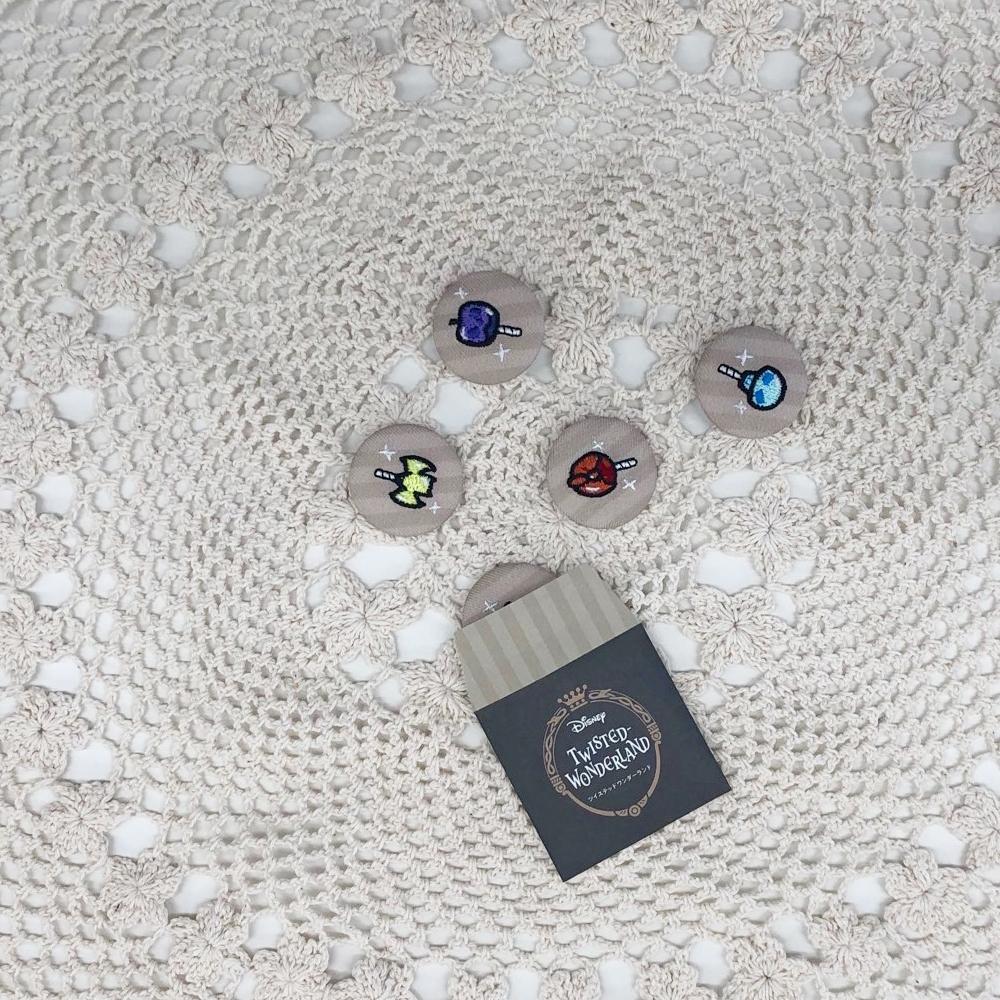 ツイステッドワンダーランド 刺繍キャンディブローチ2 全11種ボックスセット