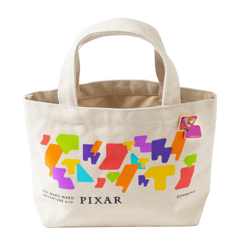 ピンバッジ付ランチトート ダッシュ【Go! WAKU WAKU ADVENTURE with PIXAR】
