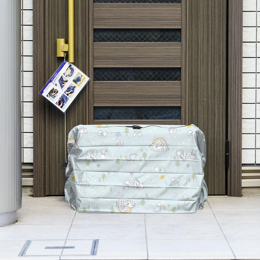くまのプーさん サステナブル宅配ボックスOKIPPA ベビーデザイン - ブルー