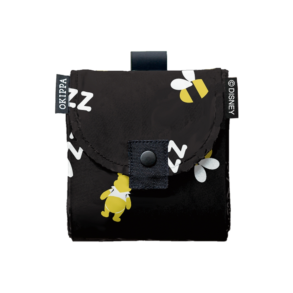 くまのプーさん サステナブル宅配ボックスOKIPPA シックデザイン - ブラック(Bee)