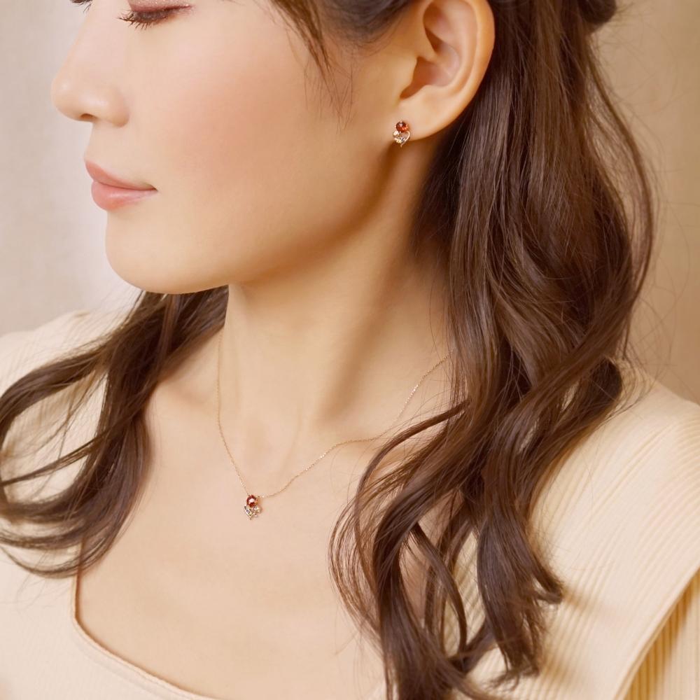 【ショップディズニー先行販売】ディズニーコレクションジュエリー[ 美女と野獣] ネックレス( Believe )